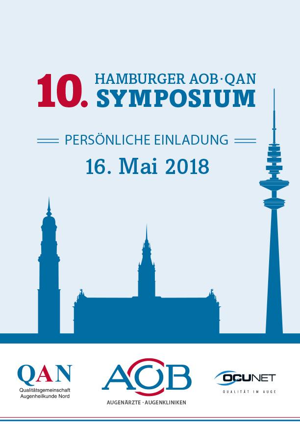 10. Hamburger AOB · QAN Symposium Einladung